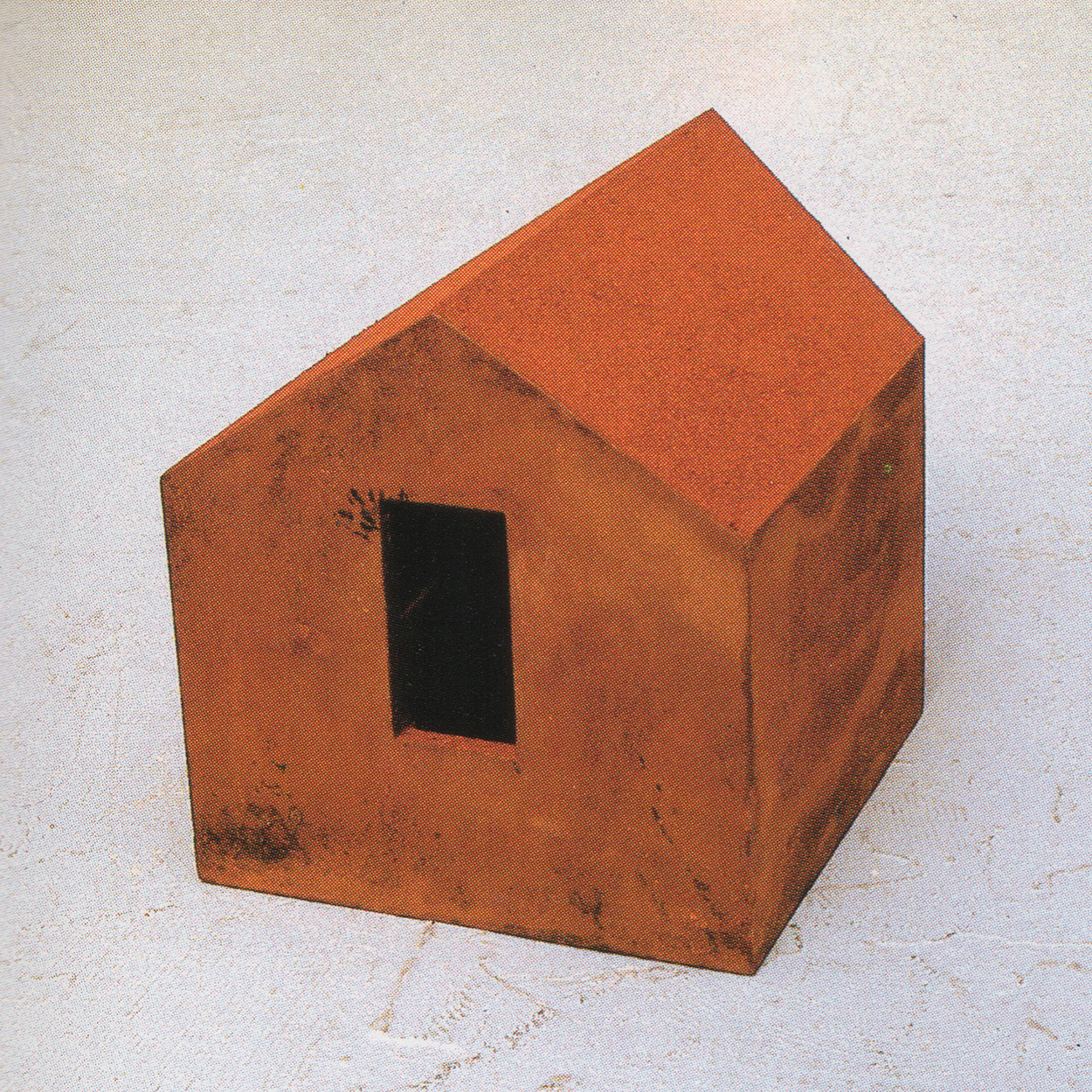Midnight|iron and red sand|25.4 x 32 x 24 cm|1990