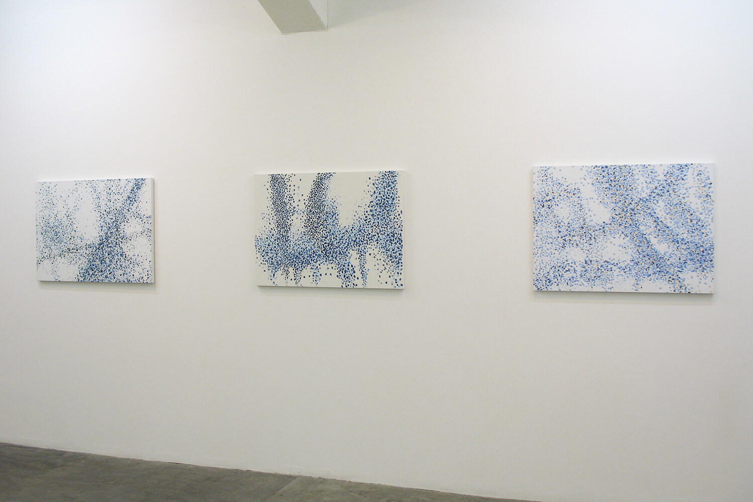 When the Dust Settles<br>Oil on Canvas, 65 x 91 cm, 2012 (each)