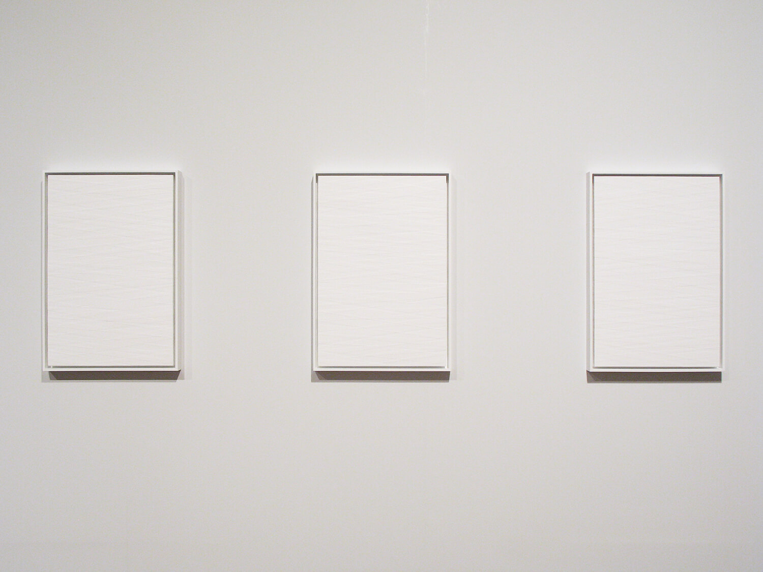 Untitled 2010<br>Acrylic, japanese paper on Board<br>63.5 x 44 x 5.5cm each (set of 22 pieces)